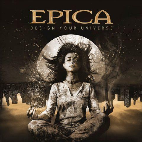 Epica - Design Your Universe - Gold Edition - Album Cover