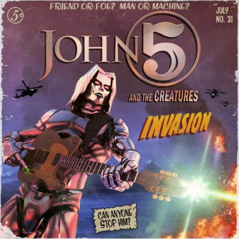 John 5 And The Creatures - Invasion - Album Cover