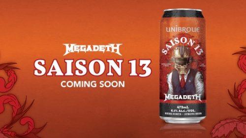 Megadeth - Saison 13 - Beer Cover
