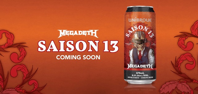 Megadeth - Saison 13 - Beer Cover