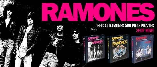 Ramones - Puzzle Cover
