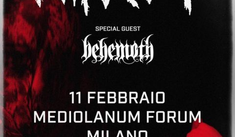 Slipknot - Behemoth - Mediolanum Forum - Tour 2020 - Promo