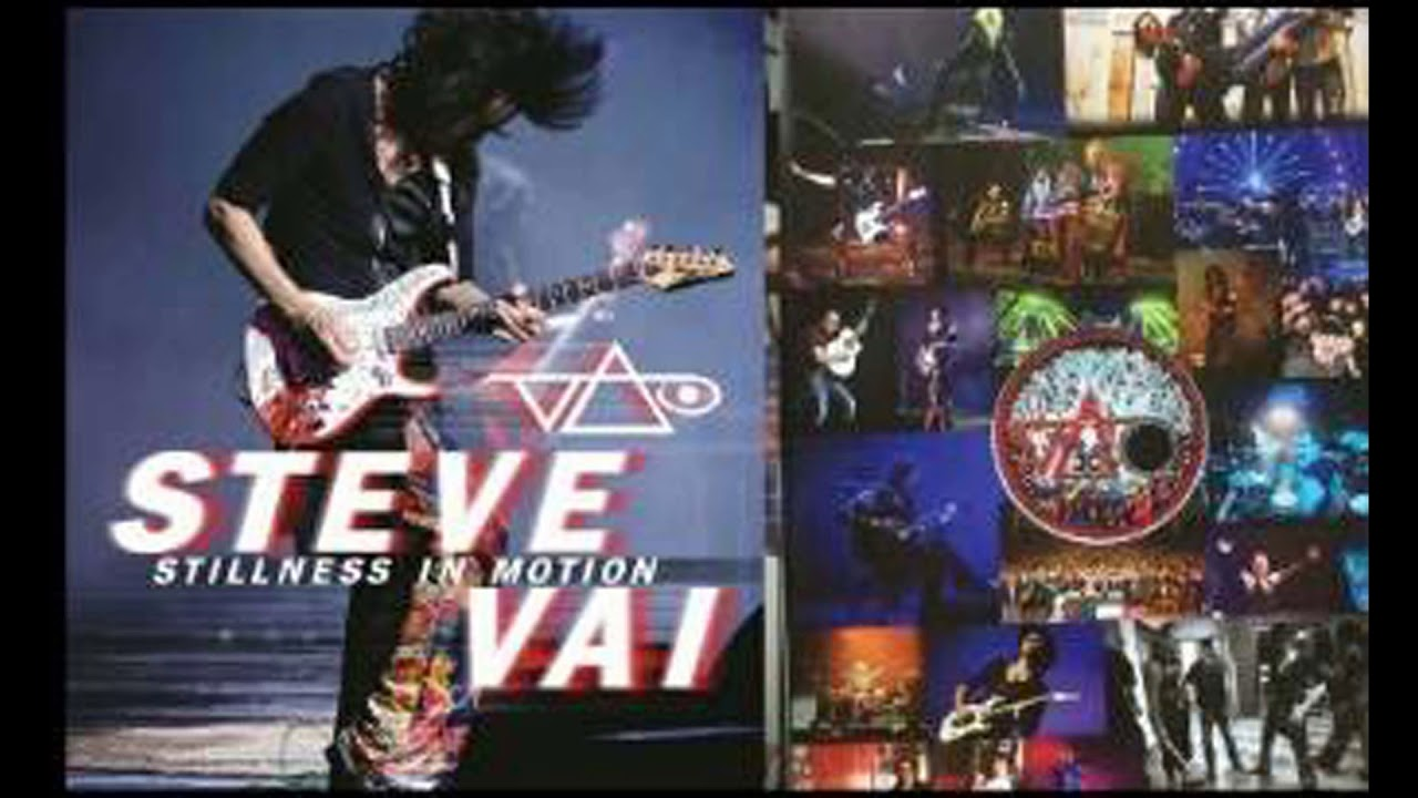 Steve Vai - Stillness In Motion - Album Cover