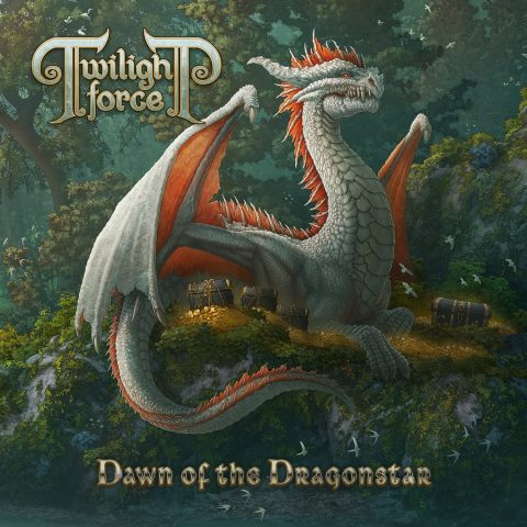 Twilight Force - Dawn Of The Dragonstar - Album Cover