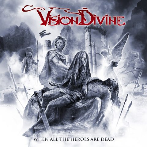 Vision Divine - When All The Heroes Are Dead - Album Cover