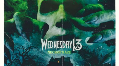 Wednesday 13 - Necrophaze - Album Cover