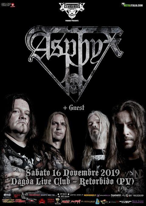 Asphyx - Dagda Live Club - Tour 2019 - Promo