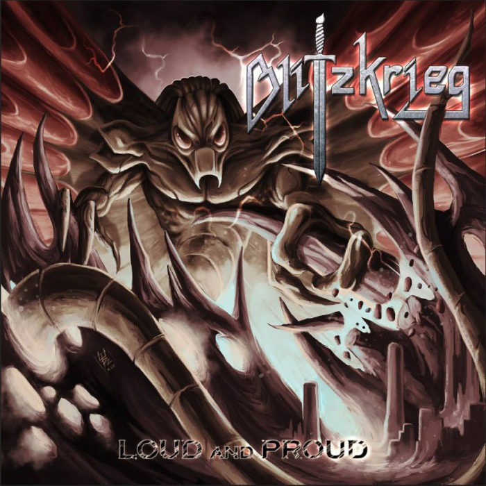 Blitzkrieg - Loud And Proud - EP Cover