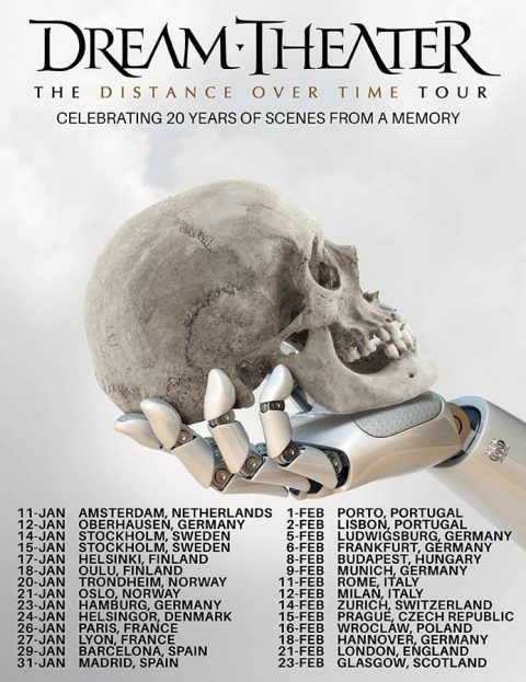 Dream Theater - The Distance Over Time Tour 2020 - Promo