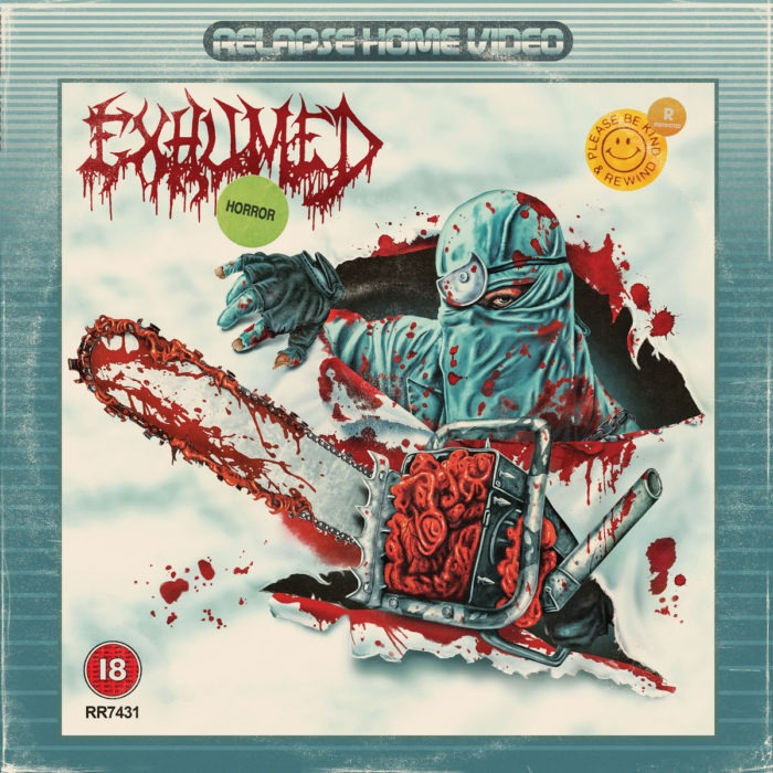Exumed - Horror - Album Cover