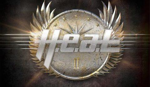 H - E - A - T - 2 - Album Cover