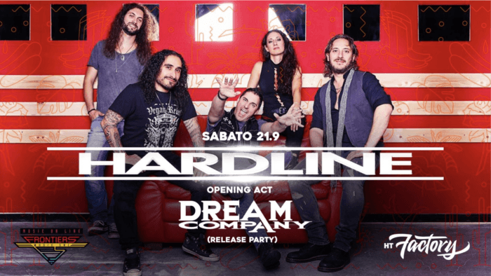Hardline - Dream Company - HT Factory - Tour 2019 - Promo