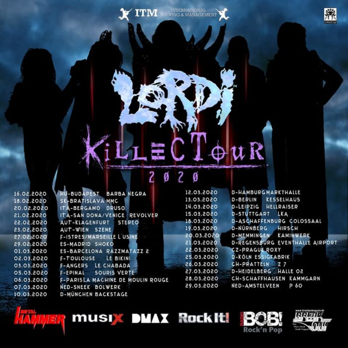 Lordi - Killectour_2020 - Promo