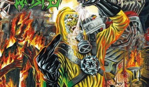 Municipal Waste - The Last Rager - EP Cover