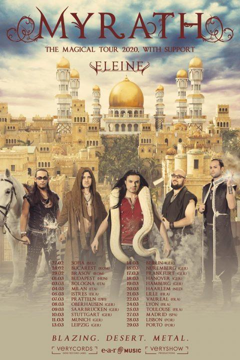 Myrath - Eleine - The Magical Tour 2020 - Promo