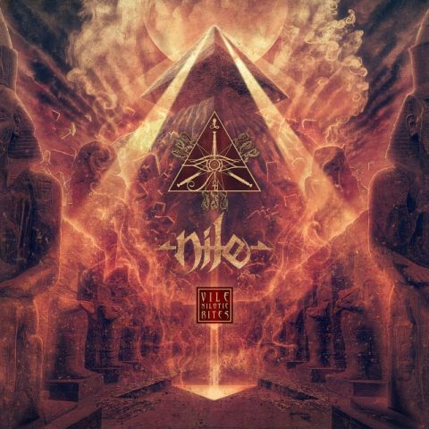 Nile - Vile Nilotic Rites - Album Cover