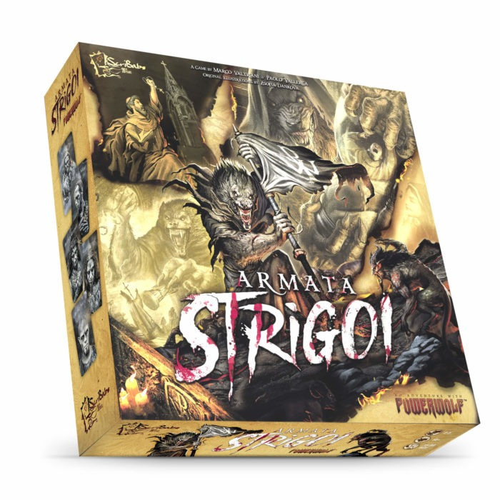 Powerwolf - Armata Strigoi - Board Game Cover
