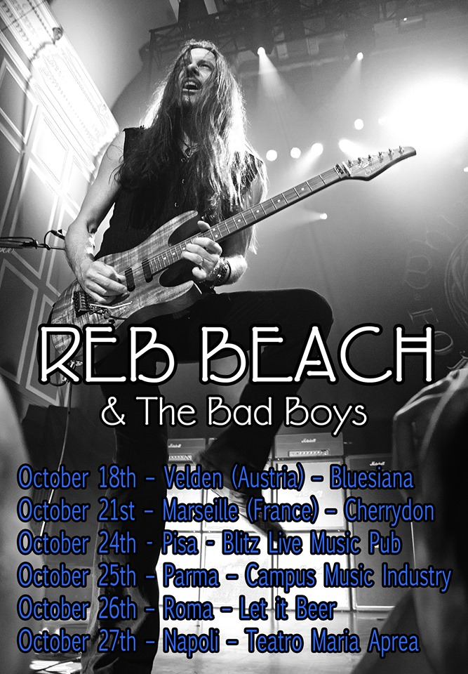 Reb Beach And The Bad Boys - Tour 2019 - Promo