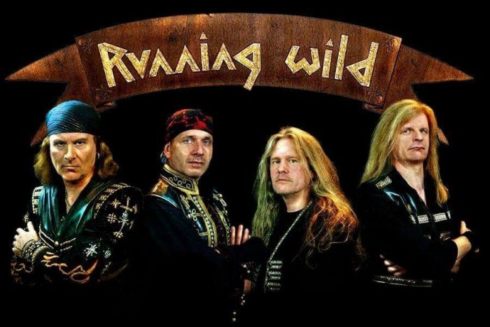 Running Wild - Crossing The Blades - EP Cover