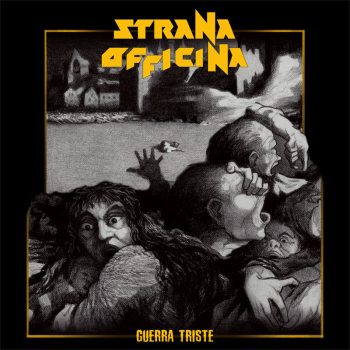 Strana Officina - Guerra Triste - EP Cover