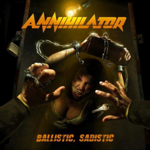Annihilator - Ballistic Sadistic - Album Cover