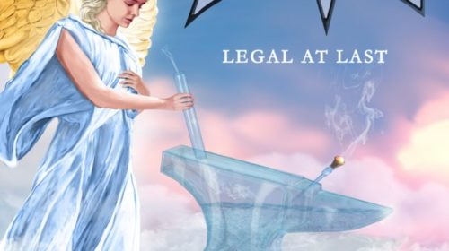 Anvil - Legal At Last - Album Cover