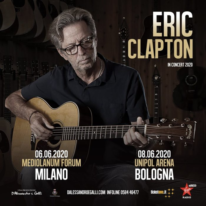 Eric Clapton - Live In Italy 2020 - Promo