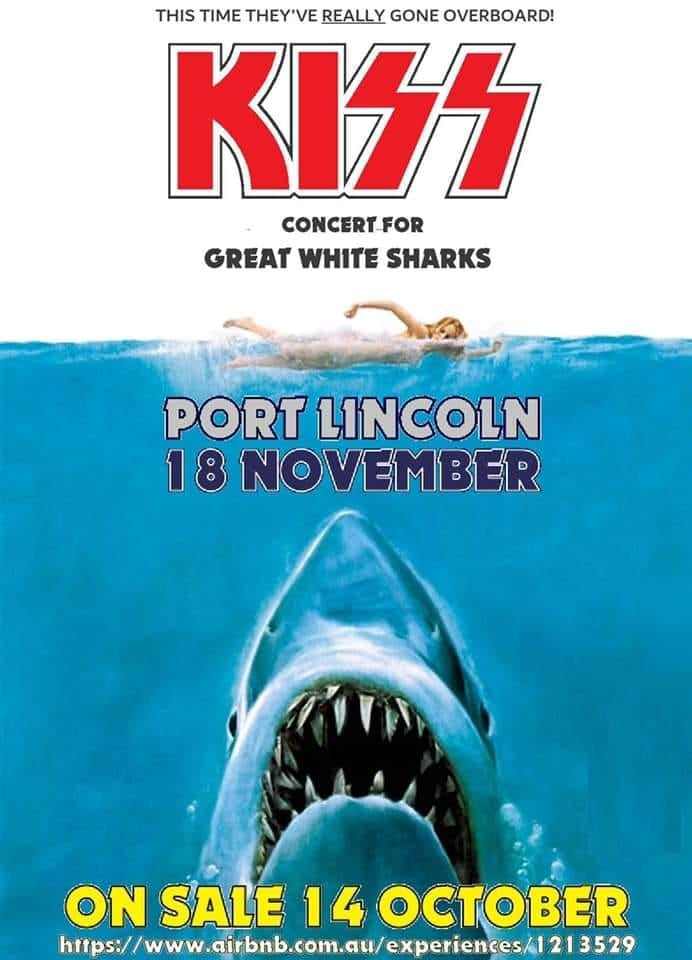 Kiss - Concert For Great White Sharks - 2019 - Promo