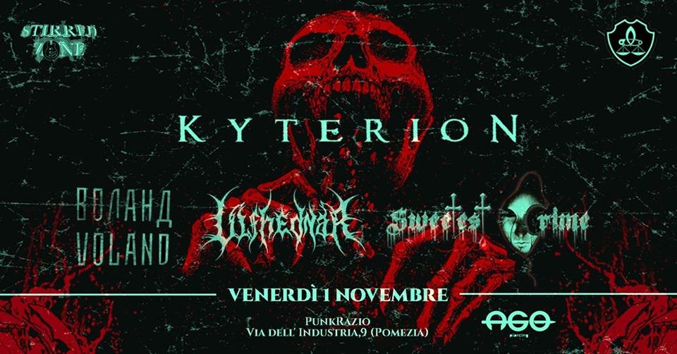 Kyterion - Punkrazio - Tour 2018 - 2019 - Promo