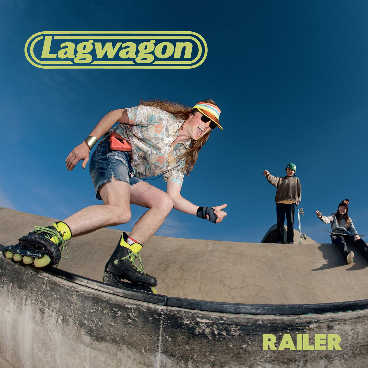 Lagwagon - Railer - Album Cover