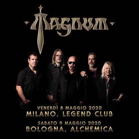 Magnum - Italian Tour 2020 - Promo
