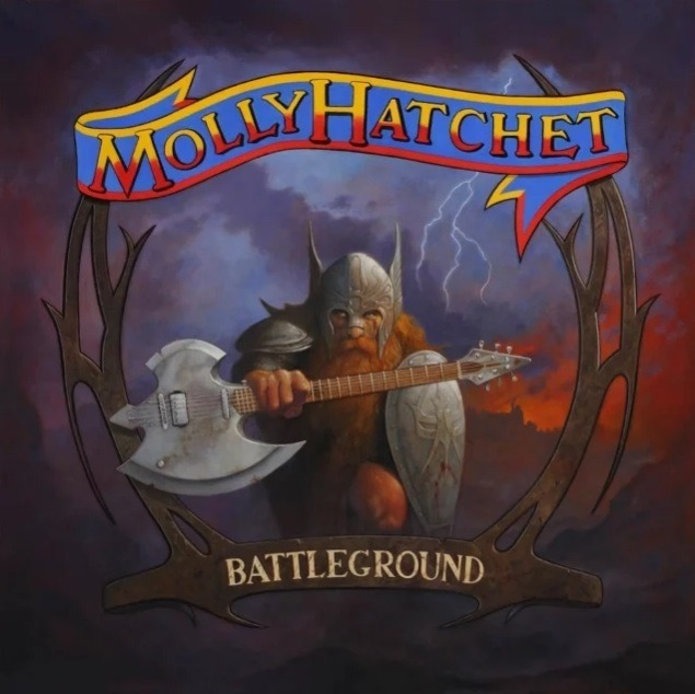 Molly Hatchet - Battleground - Album Cover
