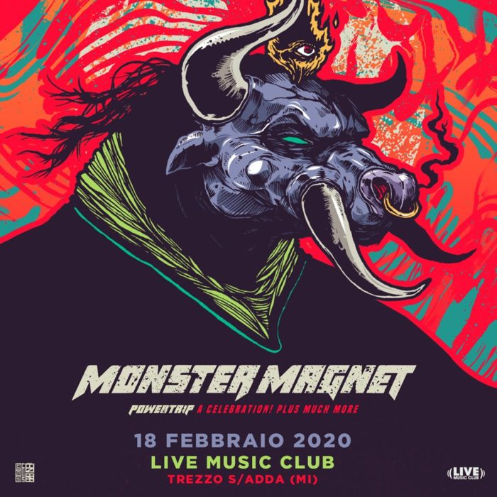 Monster Magnet - Powertrip A Celebration - Live Music Club - Tour 2020 - Promo