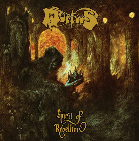 Mortiis - Spirit Of Rebellion - Album Cover
