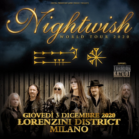 Nightwish - Lorenzini District - World Tour 2020 - Promo
