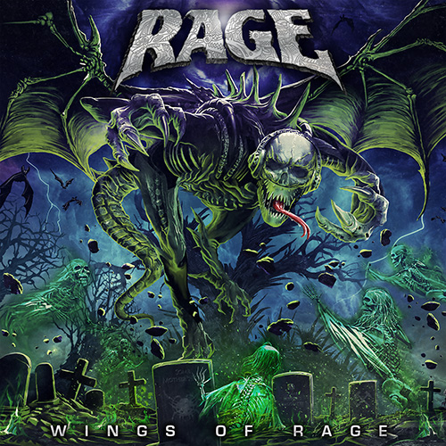 Rage - Wings Of Rage - Album Cover