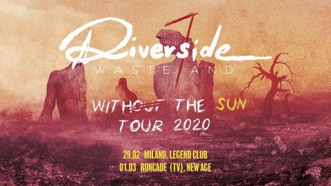 Riverside - Wasteland Italian Tour 2020 - Promo