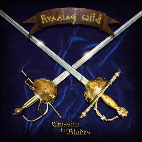 Running Wild - Crossing The Blades - Album Cover