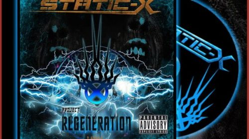 Static-X - Project Regeneration - Album Cover