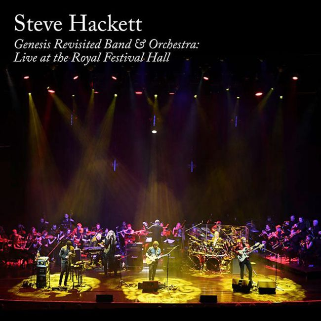 Steve Hackett - Genesis Revisited Band Orchestra - Live At The Royal Festival Hall - Album Cover