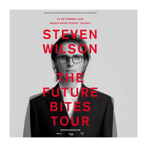 Steven Wilson - The Future Bites Tour - Milano 2020 - Promo