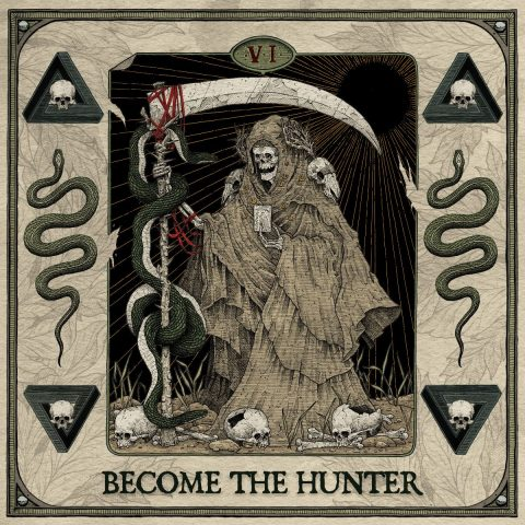 Suicide Silence - Become The Hunter - Album Cover