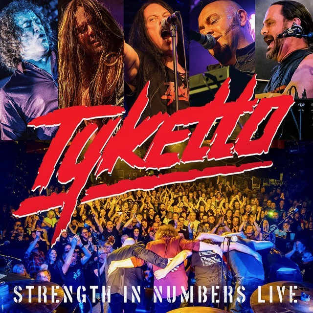 Tyketto - Strenght In Numbers - Album Cover