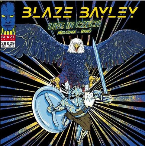 Blaze Bayley - Live In Czech - Album Cover