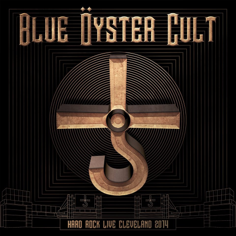 Blue Oyster Cult - Hard Rock Live Cleveland 2014 - Album Cover