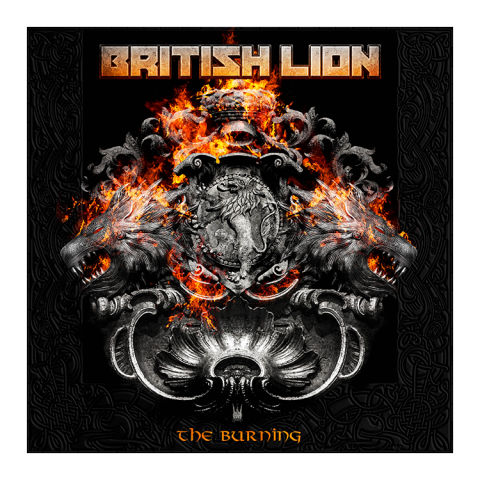 British Lion - Burning - Album Cover