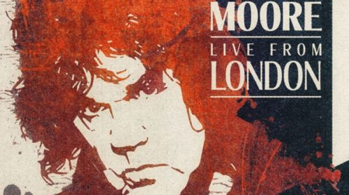 Gary Moore - Live From London - Album Cover