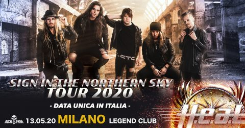 HEAT - Legend Club - Sign In The Northen Sky - Tour 2020 - Promo