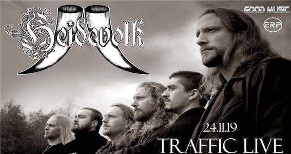 Heidevolk - Kormak - Hell's Guardian - Traffi Live - Tour 2019 - Promo
