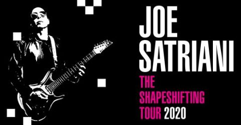 Joe Satriani - Teatro Verdi - The Shapeshifting Tour 2020 - Promo
